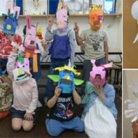 受験クラスと幼児クラスの制作