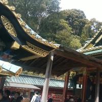 国宝、久能山東照宮を参拝しました。