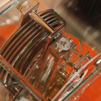 ジャガー・ルクルト 生産終了品 アトモス・クラシック・トランスパラント・ムーンフェーズ 入荷致しました。