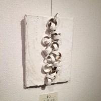 高槻のギャラリーに、抽象が展を見にいきました。