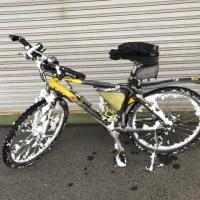 雪中自転車トレーニング(通勤)