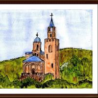 ブルガリア・ルーマニア旅行シリーズ その36 ツアレヴェッツの丘の教会(ベルコタルノボ・ブルガリア)
