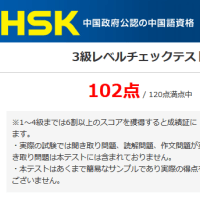 HSKは4級を目指す形で