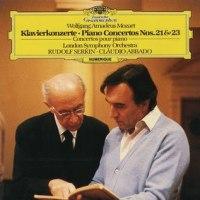 ゼルキンのピアノ、アバドの指揮でモーツアルト「ピアノ協奏曲21番、23番」にかぶりつく