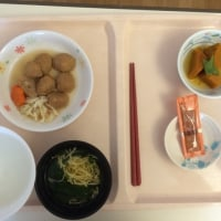 入院3日目から食事