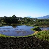 長野県・富士見町の「葛窪の棚田」