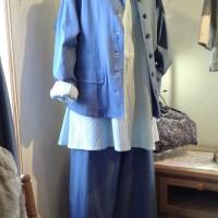 ヤッコマリカルドの春服とムクロジネックレス♪