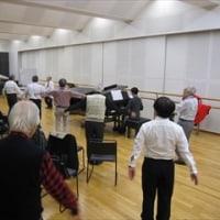 10/13、15 OB練習『日本の笛』、『学生王子』