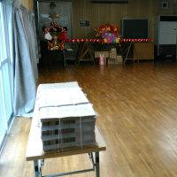 稲前神社清掃は雨で中止の巻