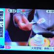 7/19 メロンの上の生クリーム おいしそう!