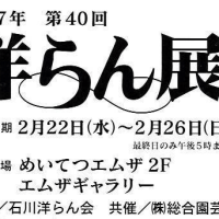 会員2名が「洋らん展」に出展しています。  石川県支部