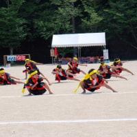 竹木場小学校と校区運動会