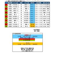 12日 3,4年 中学年リーグ
