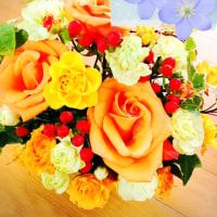 お花ありがとう☆