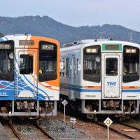 天竜浜名湖鉄道 遠州森(2016.12.21) TH9200形とTK2100形の並び