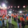 第35回平池まつり-総踊りやステージ発表、花火で賑わう