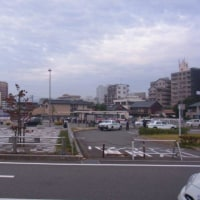 新飯塚駅外観を見た