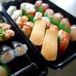 誕生日のお祝いにお寿司!