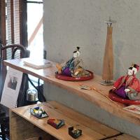 「木野多喜子創作人形展」開催中です