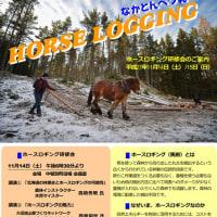 【お知らせ】ホースロギング研修会