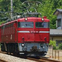 2017年5月23日 高崎線 北本 EF81-89 回9848