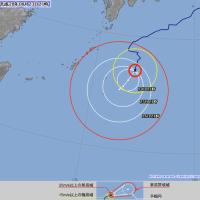 台風10号【ライオンロック】