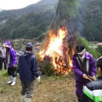 深須地区とんど焼き