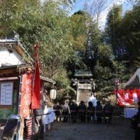 飛鳥の 「岡えびす神社祭り」