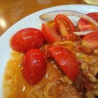 川崎・太陽のトマト麺 で 担担冷麺