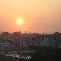 夕陽とターキッシュ