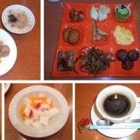 ホテル京阪ユニバーサルタワーでの朝食