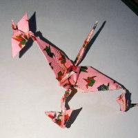折り紙「鶴いろいろ」