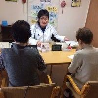 くもん学習療法で楽しく交流しています!!