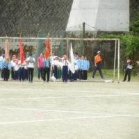 小中合同体育祭に向けた練習 その3・総練習