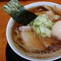 龍横健さんの中華そば/魚+100
