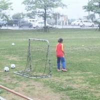 沖縄女子短期大学グラウンドでの沖縄女子短期大学サッカー広場!