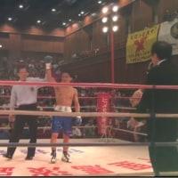 昨晩は、、ボクシング観戦 その①