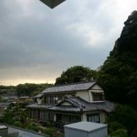 突然の雷雨