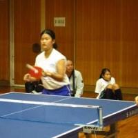10月24日 三島地区 中学校・支援学校卓球大会