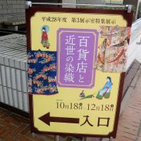 国立歴史民俗博物館で、 『百貨店と近世の染織』 をみました。