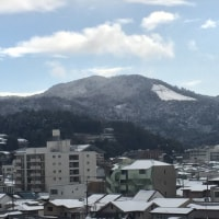 雪大文字 と 雪比叡