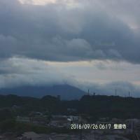 09月26日、朝の桜島