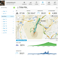RunkeeperのGPSログデータをgoogleMapに読み込む。