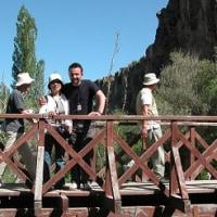 「エジプト・トルコ旅行記」 №98 渓谷の散策