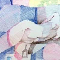 岩田壽秋:秋の午後あなたがいる部屋
