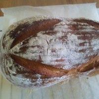 家パン~三種のナッツの塩カンパーニュ