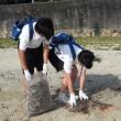 「海の日」の海岸ゴミ拾い