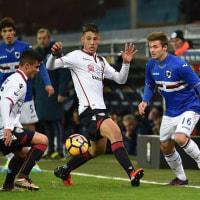 2016-17 TIM CUP4回戦 SAMPDORIA 3-0 Cagliari Best16進出!!