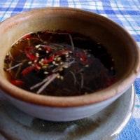 ブロ友さんの レシピで 😄 ランチ(胡瓜のビール漬け)