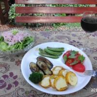 旬の野菜ディナー